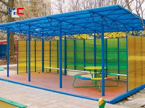 Теневой навес (Веранда) для Детского сада