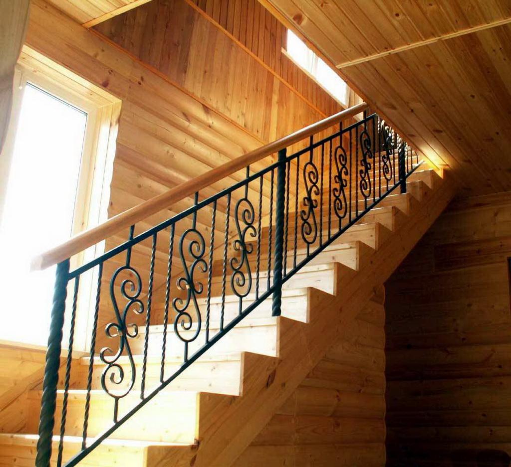 фото лестниц с поручнями можем только украсить