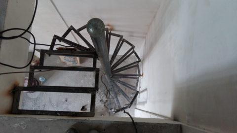 Винтовая лестница ул. Кролюницкого