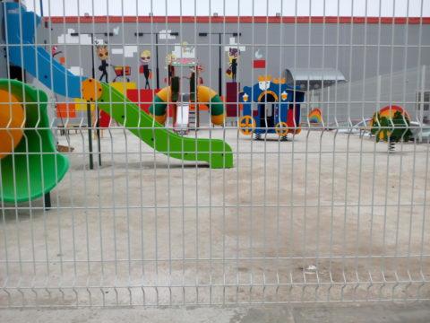 Ограждение 3D-забором детской игровой площадки ТД «ДА» Верхняя терраса
