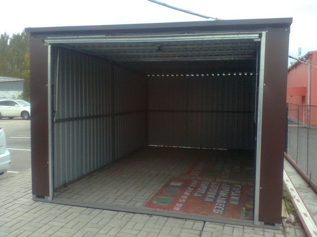 электрические ворота на гараж елец