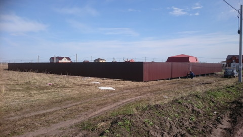 Забор из профнастила ПКИЗ «Дружба-2»