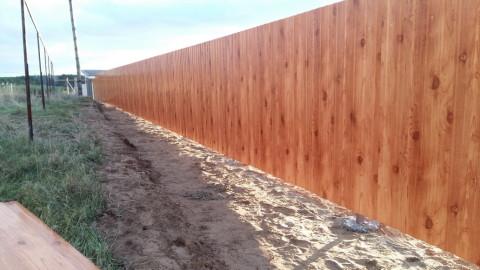Забор с. Красный Яр