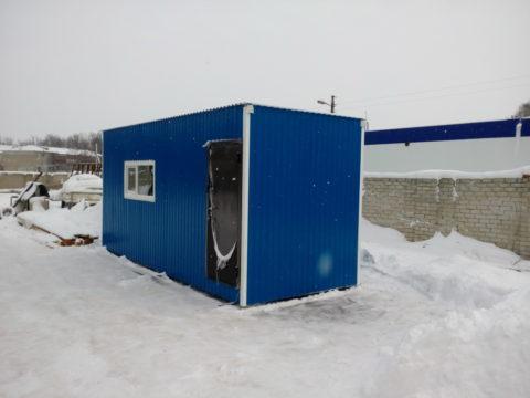 Строительный вагончик для отправки в Димитровград