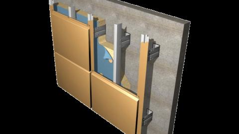 Фасады из алюминиевых композитных кассет